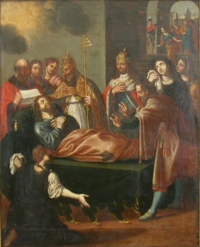 Death of St Alexis