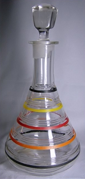 Ring Decanter with Stopper